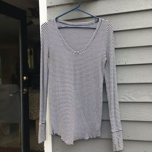 Stretchy Striped Long Sleeve